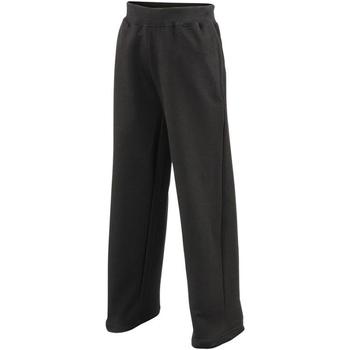 Vêtements Enfant Pantalons de survêtement Awdis JH71J Noir