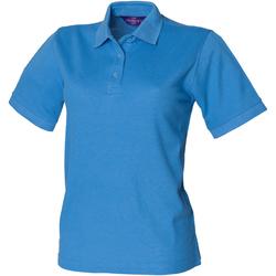 Vêtements Femme Polos manches courtes Henbury HB401 Bleu moyen