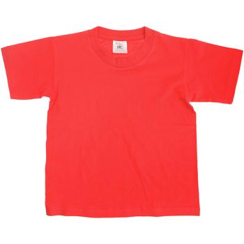 Vêtements Enfant T-shirts manches courtes B And C Exact Rouge