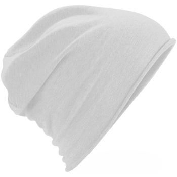 Accessoires textile Bonnets Beechfield Jersey Blanc