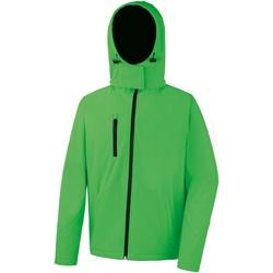 Vêtements Homme Polaires Result R230M Vert/Noir