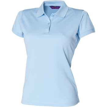 Vêtements Femme Polos manches courtes Henbury Coolplus Bleu clair