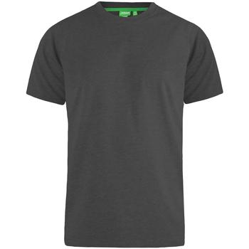 Vêtements Homme T-shirts manches courtes Duke  Gris foncé chiné
