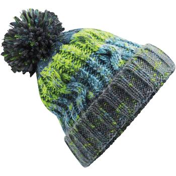 Accessoires textile Bonnets Beechfield Pom Pom Gris électrique