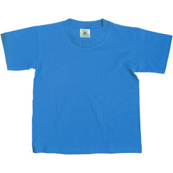 Vêtements Enfant T-shirts manches courtes B And C Exact Bleu vif