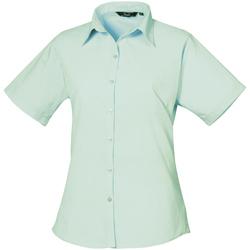 Vêtements Femme Chemises / Chemisiers Premier Poplin Vert eau