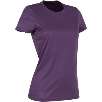 Vêtements Femme T-shirts manches courtes Stedman Active Violet