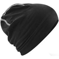 Accessoires textile Bonnets Beechfield Hemsedal Noir / blanc