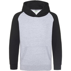 Vêtements Enfant Sweats Awdis Baseball Gris chiné/Noir
