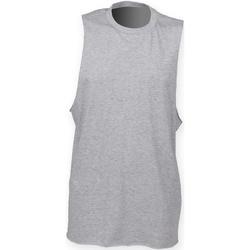 Vêtements Homme Débardeurs / T-shirts sans manche Skinni Fit High Neck Gris