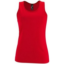 Vêtements Femme Débardeurs / T-shirts sans manche Sols Performance Rouge