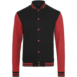 Vêtements Homme Blousons Build Your Brand College Noir / Rouge