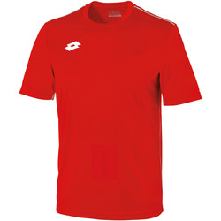 Vêtements Enfant T-shirts manches courtes Lotto Jersey Rouge