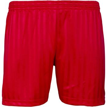 Vêtements Enfant Shorts / Bermudas Maddins Stripe Rouge