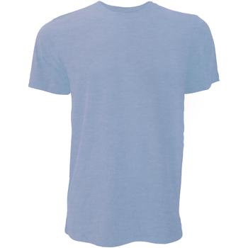 Vêtements Homme T-shirts manches courtes Bella + Canvas Jersey Bleu chiné