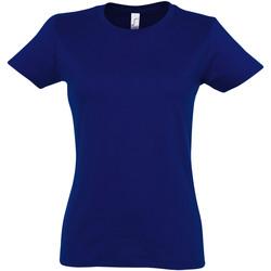 Vêtements Femme T-shirts manches courtes Sols Imperial Bleu foncé