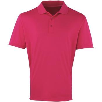 Vêtements Homme Polos manches courtes Premier Coolchecker Rose