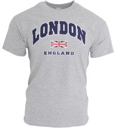 Vêtements Homme T-shirts manches courtes England Casual Gris sport
