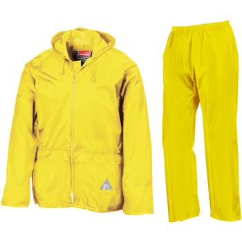 Vêtements Homme Soins corps & bain Result RE95A Jaune néon