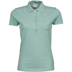 Vêtements Femme Polos manches courtes Tee Jays Stretch Vert pâle