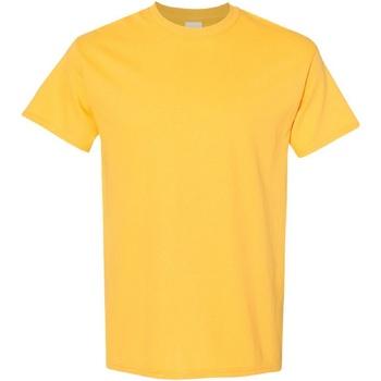 Vêtements Homme T-shirts manches courtes Gildan Heavy Jaune