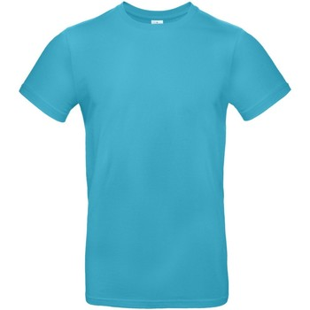 Vêtements Homme T-shirts manches courtes B And C E190 Bleu azur