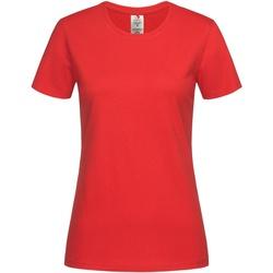 Vêtements Femme T-shirts manches courtes Stedman Organic Rouge