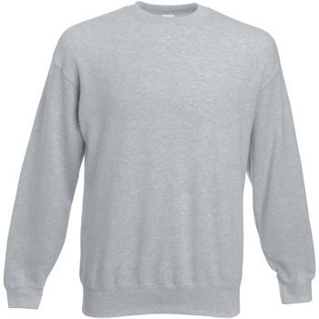 Vêtements Sweats Fruit Of The Loom Premium Gris