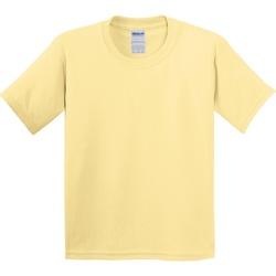 Vêtements Enfant T-shirts manches courtes Gildan 5000B Jaune brume