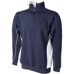 Vêtements Homme Sweats Finden & Hales LV338 Bleu marine/Blanc