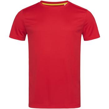 Vêtements Homme T-shirts manches courtes Stedman Mesh Rouge