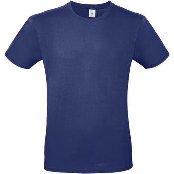 Vêtements Homme T-shirts manches courtes B And C E150 Bleu marine foncé