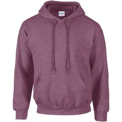 Vêtements Sweats Gildan Hooded Bordeaux chiné