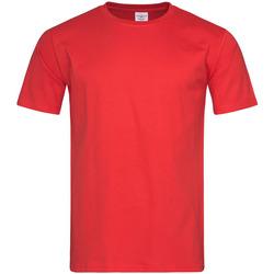 Vêtements Homme T-shirts manches courtes Stedman Classic Rouge