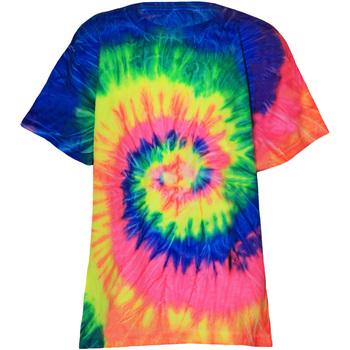 Vêtements Enfant T-shirts manches courtes Colortone TD02B Arc-en-ciel néon