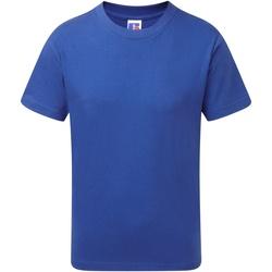 Vêtements Garçon T-shirts manches courtes Jerzees Schoolgear J155B Bleu roi vif
