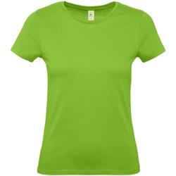 Vêtements Femme T-shirts manches courtes B And C E150 Vert clair