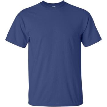 Vêtements Homme T-shirts manches courtes Gildan Ultra Bleu foncé