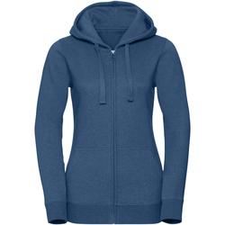 Vêtements Femme Sweats Russell Sweat MELANGE RW7105 Bleu