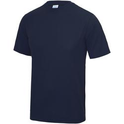 Vêtements Enfant T-shirts manches courtes Just Cool JC01J Bleu marine Oxford