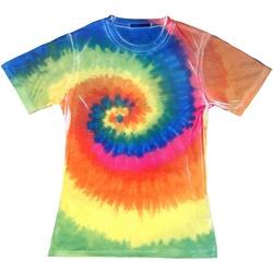 Vêtements Femme T-shirts manches courtes Colortone TD21M Arc-en-ciel