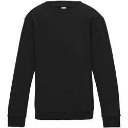 Vêtements Enfant Sweats Awdis JH30J Noir