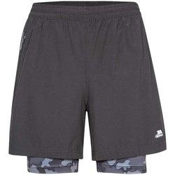 Vêtements Homme Shorts / Bermudas Trespass Patterson Noir / gris