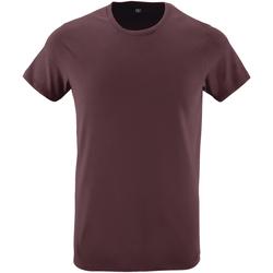 Vêtements Homme T-shirts manches courtes Sols Slim Fit Bordeaux