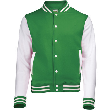 Vêtements Blousons Awdis Varsity Vert tendre/Blanc