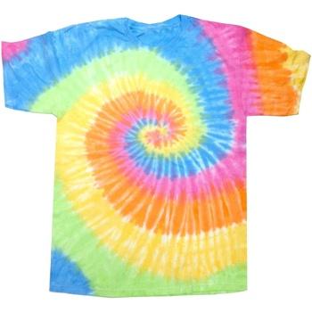 Vêtements Femme T-shirts manches courtes Colortone Rainbow Eternité