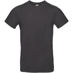 Vêtements Homme T-shirts manches courtes B And C E190 Noir délavé