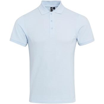 Vêtements Homme Polos manches courtes Premier Coolchecker Bleu clair