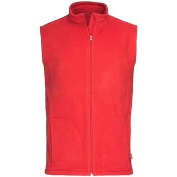 Vêtements Homme Gilets / Cardigans Stedman Active Rouge