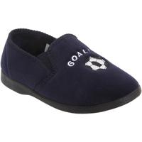 Chaussures Garçon Chaussons Zedzzz Gusset Bleu marine